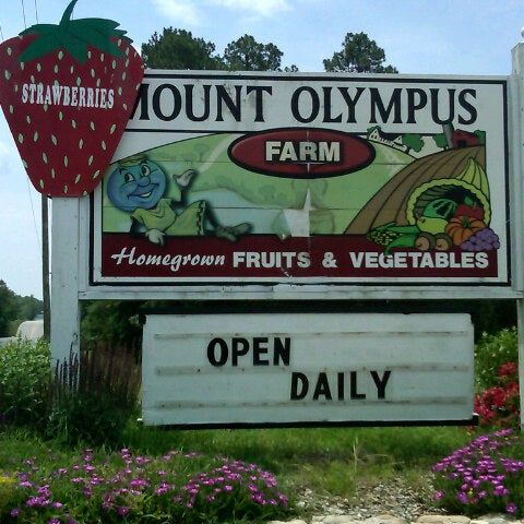 Mount Olympus Berry Farm Farmers Market