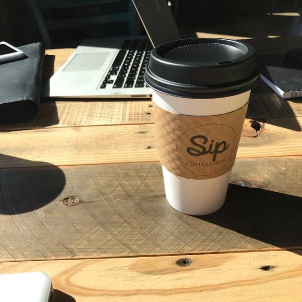 9/14/2017에 Chris L.님이 Sip Coffee & Beer House에서 찍은 사진