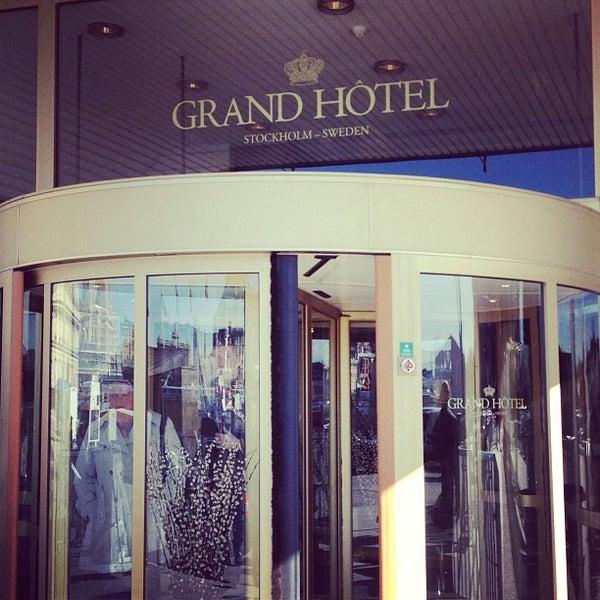 Foto tirada no(a) Grand Hôtel Stockholm por Nicklas G. em 4/25/2013