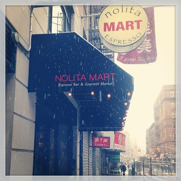 3/8/2013にTerry C.がNolita Mart & Espresso Barで撮った写真