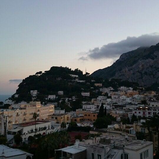 Снимок сделан в Capri Tiberio Palace пользователем Brett M. 6/21/2014