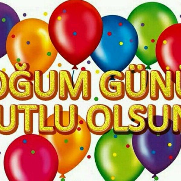 Поздравления с днем рождения по турецки открытка