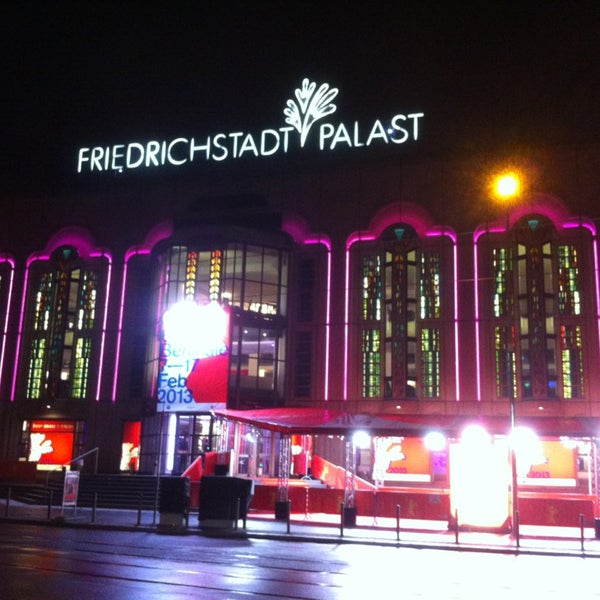 Das Foto wurde bei Friedrichstadt-Palast von Sabin am 2/8/2013 aufgenommen