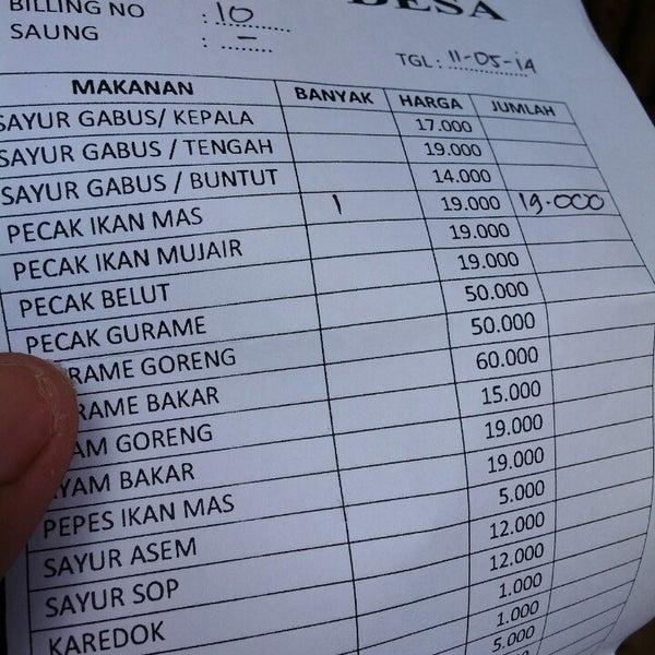 Photos at Warung Gabus Desa - Cikeas, Jawa Barat