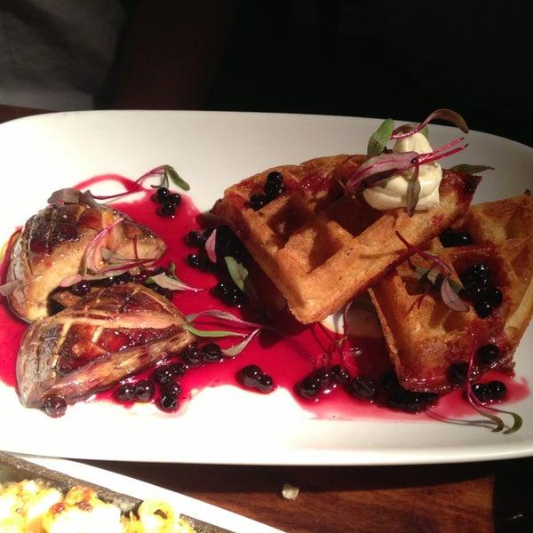 foie & waffles