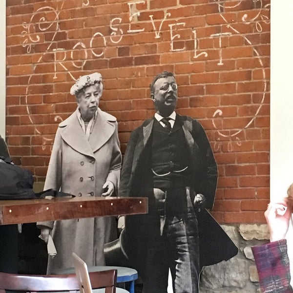 Photo taken at The Roosevelt Coffeehouse by Bill B. on 4/28/2016