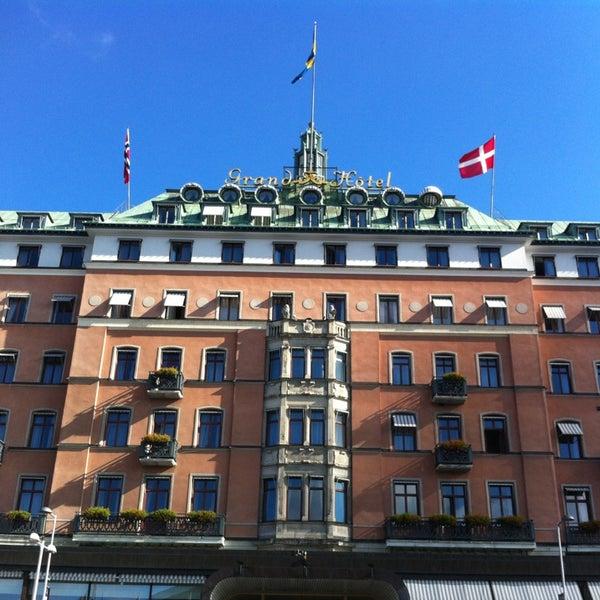 Foto tirada no(a) Grand Hôtel Stockholm por Ulf F. em 9/7/2013