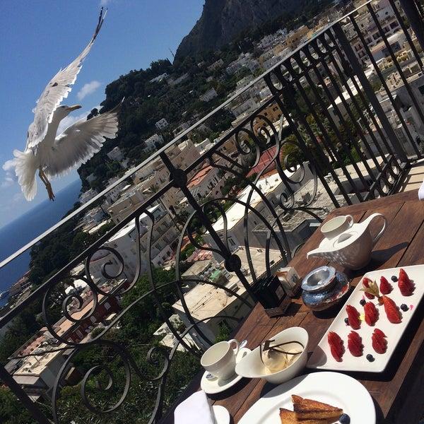 Снимок сделан в Capri Tiberio Palace пользователем Abdullah 1/7/2017