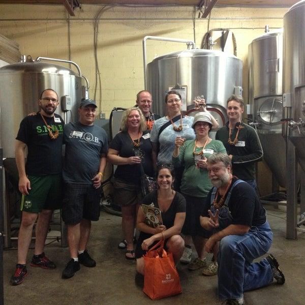 7/7/2013 tarihinde Brewvana T.ziyaretçi tarafından Fearless Brewing'de çekilen fotoğraf