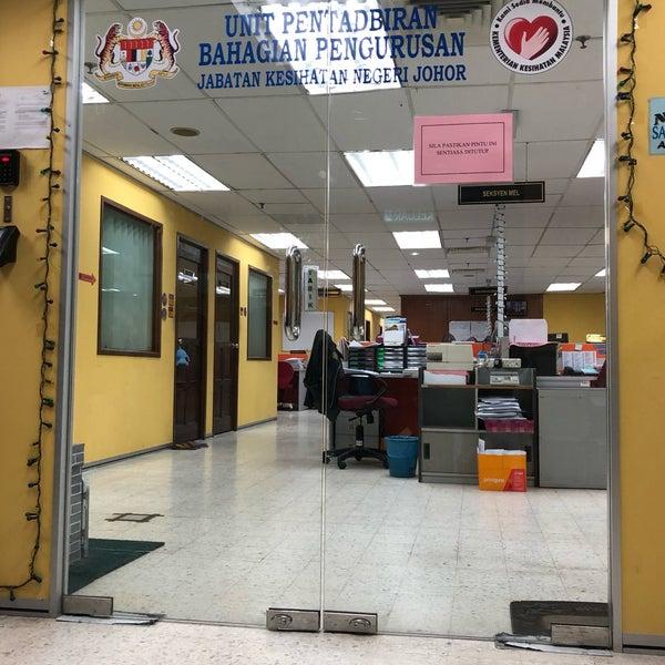 Foto Di Jabatan Kesihatan Negeri Johor Wisma Persekutuan Johor Bahru 2 Tips Dari 169 Pengunjung