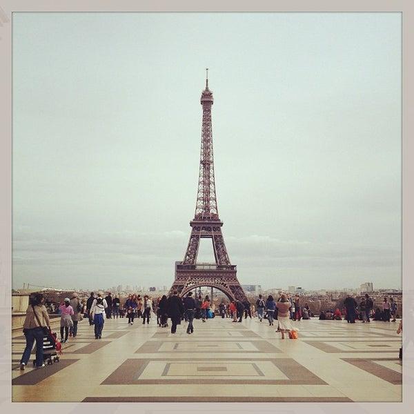 Photo prise au Place du Trocadéro par Anta le4/16/2013