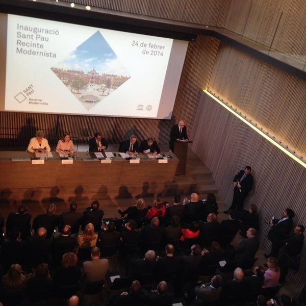 Foto tomada en Recinto Modernista de Sant Pau por Marta B. el 2/24/2014