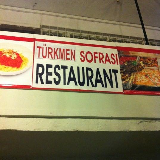 10/25/2012 tarihinde Polat T.ziyaretçi tarafından Kaş Türkmen Sofrasi'de çekilen fotoğraf