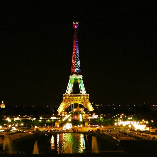 Photo prise au Place du Trocadéro par Ludo L. le6/2/2013