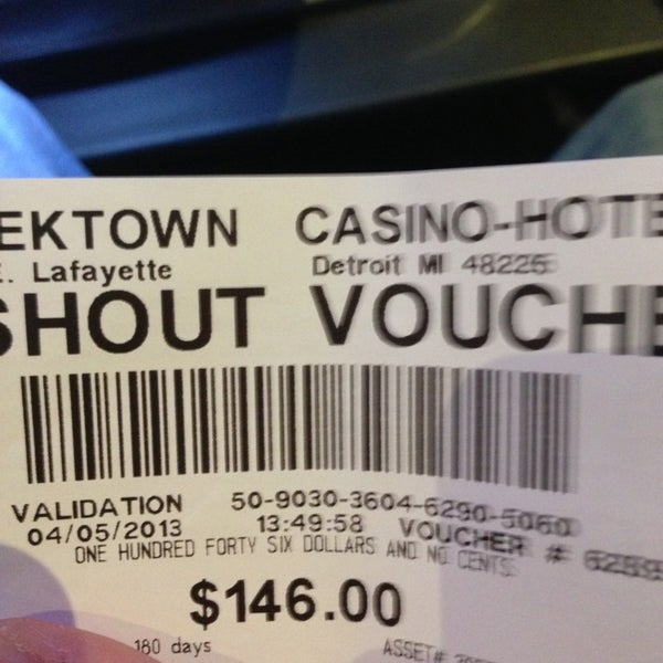 4/5/2013에 Dan S.님이 Greektown Casino-Hotel에서 찍은 사진