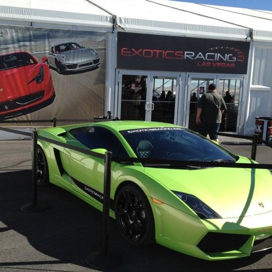 Снимок сделан в Exotics Racing пользователем Fernandinho A. 10/29/2012