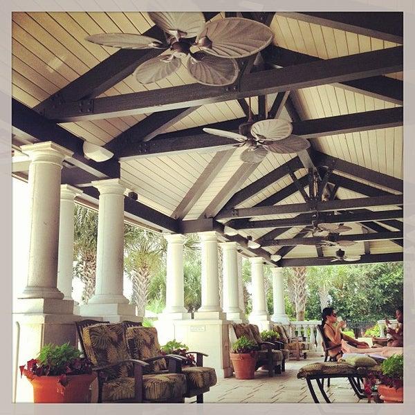 9/1/2013 tarihinde Kyle W.ziyaretçi tarafından The Spa at Ponte Vedra Inn & Club'de çekilen fotoğraf