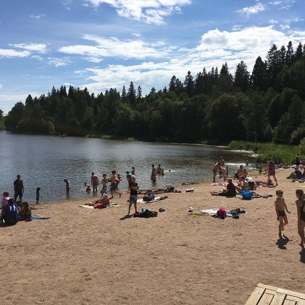 Das Foto wurde bei Pikkukosken uimaranta von Aapo R. am 7/7/2018 aufgenommen