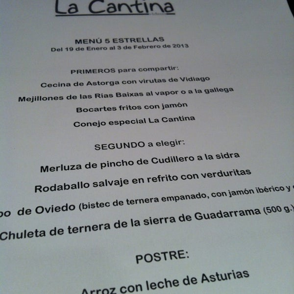 Foto diambil di La Cantina oleh Yasmine T. pada 1/24/2013