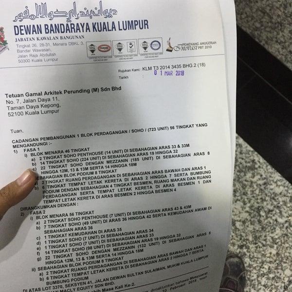Menara Dbkl 3 Kuala Lumpur Kuala Lumpur
