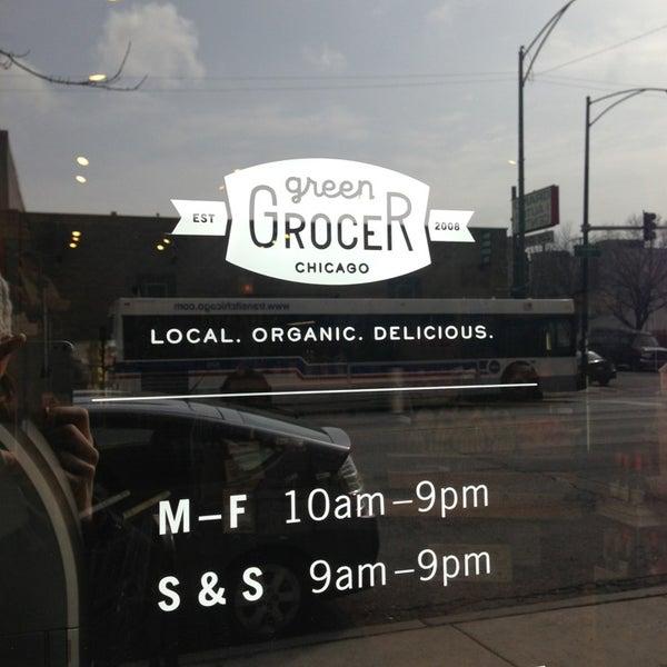 Foto tomada en Green Grocer Chicago por Kerri S. el 3/24/2013