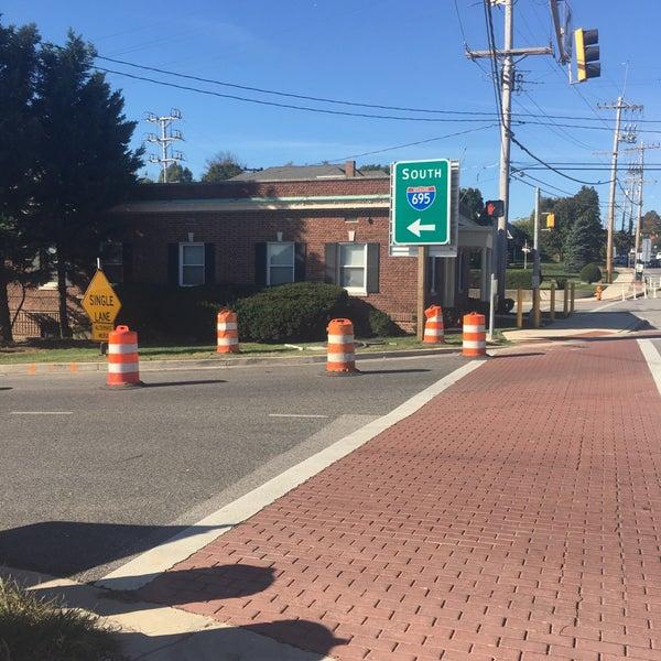 I-695 @ Exit 13 (Frederick Rd / MD 144) - Baltimore Beltway