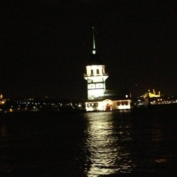 4/1/2013 tarihinde İlker H.ziyaretçi tarafından Kız Kulesi'de çekilen fotoğraf
