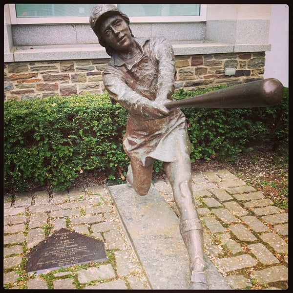 5/20/2013 tarihinde Alex C.ziyaretçi tarafından National Baseball Hall of Fame and Museum'de çekilen fotoğraf