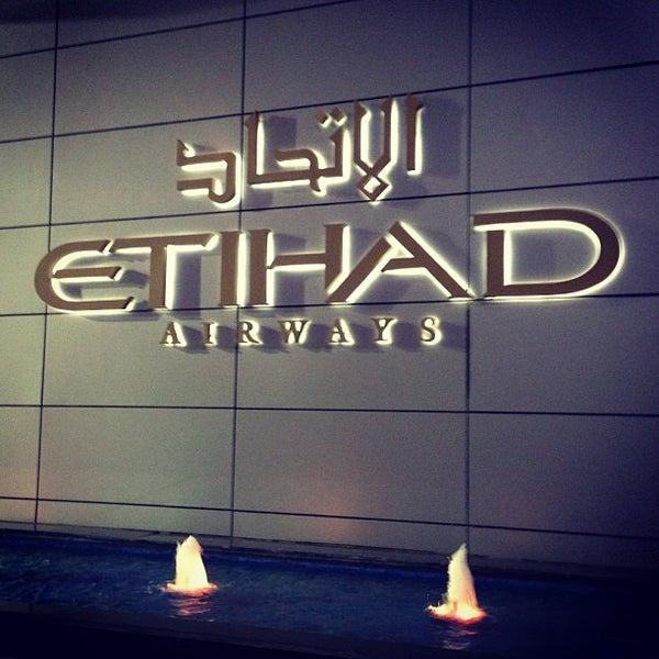 Photo prise au Abu Dhabi International Airport (AUH) par Nick J. le3/5/2013