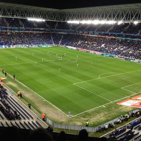 Foto diambil di RCDE Stadium oleh Jonathan N. pada 2/2/2013