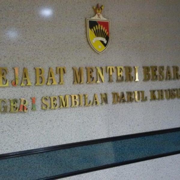 Photos At Pejabat Menteri Besar Negeri Sembilan Seremban Negeri Sembilan