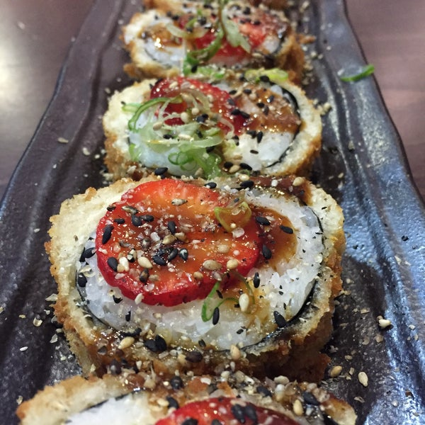 12/1/2015 tarihinde Katia K.ziyaretçi tarafından Taiyo Sushi Bar'de çekilen fotoğraf