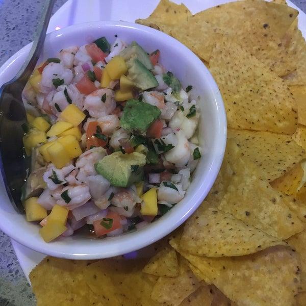 Ceviche (Shrimp | Red Snapper|Mango Pico de Gallo|Avocado|Cilantro|Tortilla Chips)