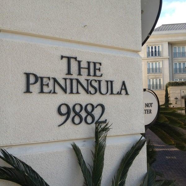 4/2/2013にAmanda L.がThe Peninsula Beverly Hillsで撮った写真