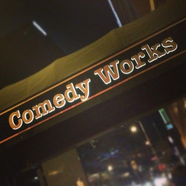2/16/2014 tarihinde Greg M.ziyaretçi tarafından Comedy Works Downtown in Larimer Square'de çekilen fotoğraf
