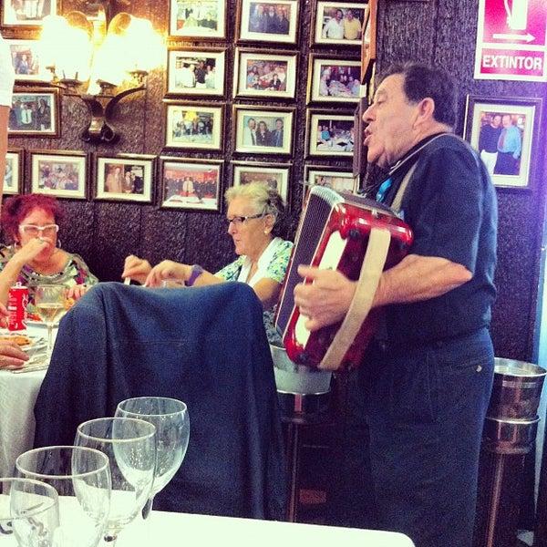 Das Foto wurde bei Restaurante Salamanca von Иван М. am 9/30/2012 aufgenommen