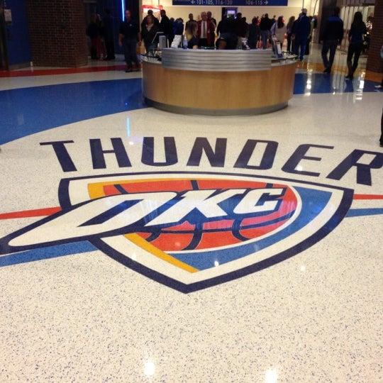 Das Foto wurde bei Chesapeake Energy Arena von Matthew M. am 11/15/2012 aufgenommen