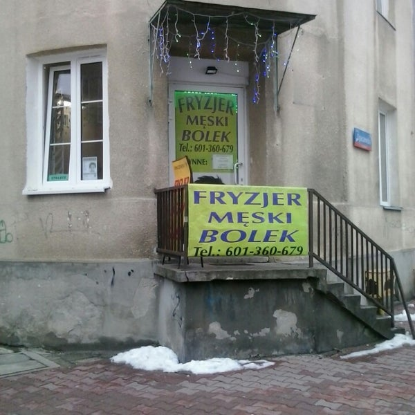 Fryzjer Męski Bolek Salon Barbershop In Szczęśliwice