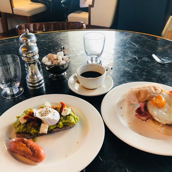 Amazing breakfast! We stay here for the breakfast honestly. Bacon and egg sandwich, French toast and avo toast all winners.