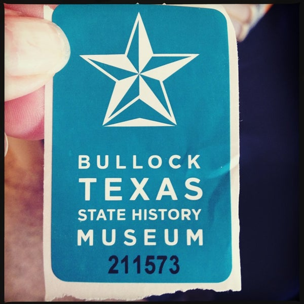 8/29/2013 tarihinde Amy J.ziyaretçi tarafından Bullock Texas State History Museum'de çekilen fotoğraf