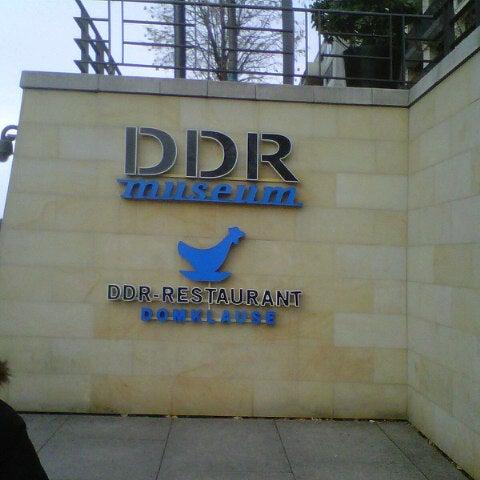 11/3/2012 tarihinde Luigi C.ziyaretçi tarafından DDR Museum'de çekilen fotoğraf