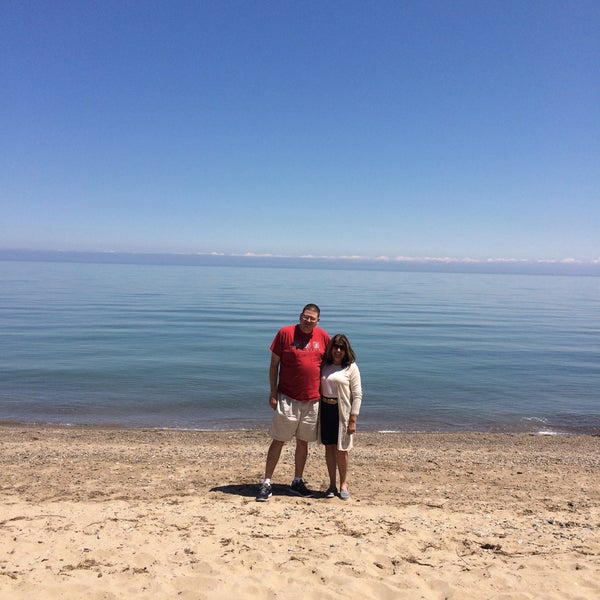 Photo Taken At Sanilac County Lexington Park Beach By Ed S On 5 27