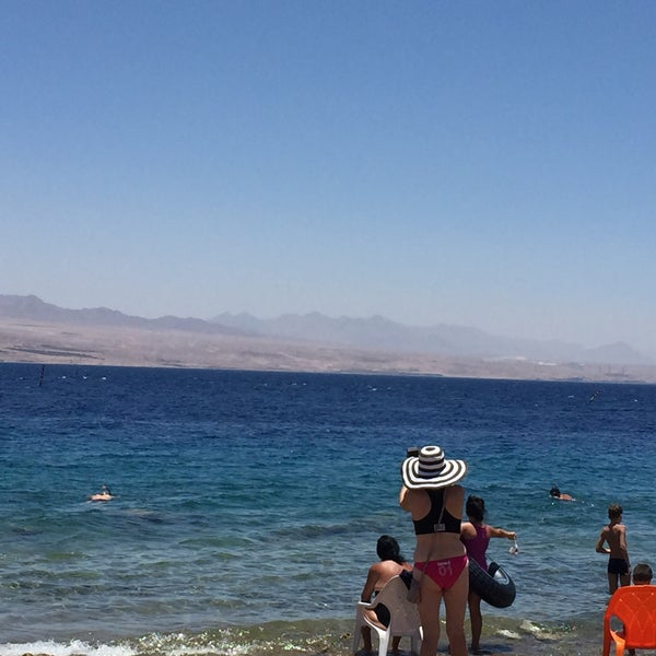 Photo Taken At Migdalor Beach Club Eilat By Dmitry K On 6 7
