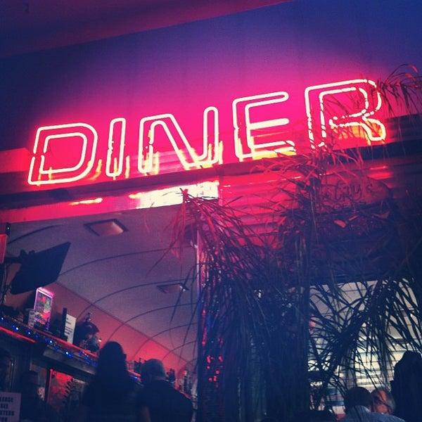 Снимок сделан в Silk City Diner Bar & Lounge пользователем Mikey I. 11/4/2012