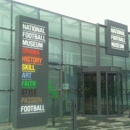 2/9/2013 tarihinde Emiel B.ziyaretçi tarafından National Football Museum'de çekilen fotoğraf