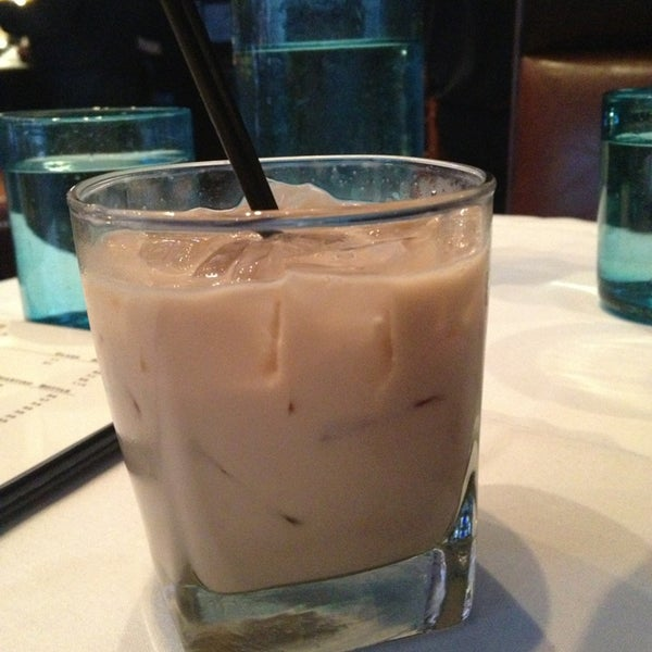 By far the best tasting White Russian in the city.