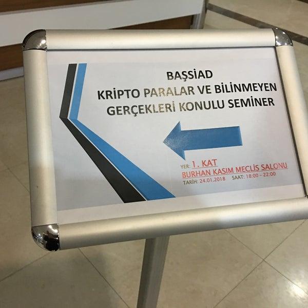 1/24/2018 tarihinde Fatih A.ziyaretçi tarafından Kocaeli Ticaret Odası'de çekilen fotoğraf