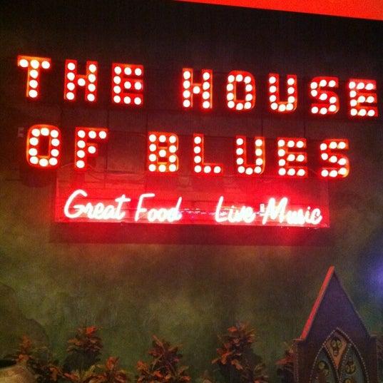 Снимок сделан в House of Blues пользователем Jim T. 10/19/2012