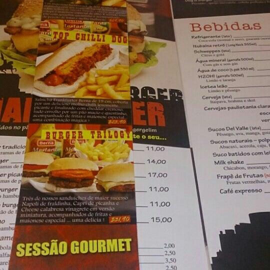 Снимок сделан в São Paulo Dog & Burger пользователем Eveston P. 7/3/2015