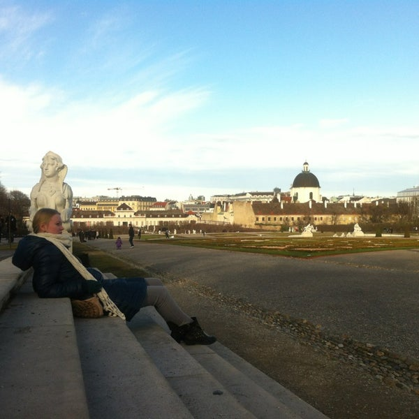Foto scattata a Oberes Belvedere da Irene T. il 12/27/2012